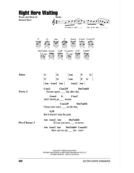 Download Digital Sheet Music Of Richard Marx For Lyrics And Chords