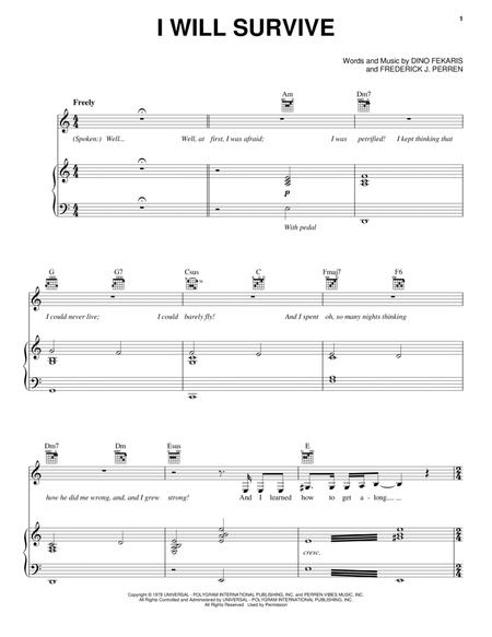 Download Digital Sheet Music of Cynthia Weil for Piano, Vocal and Guitar