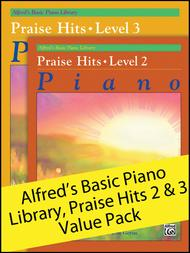 Alfred's Basic Piano Library Praise Hits 2-3 (Value Pack)