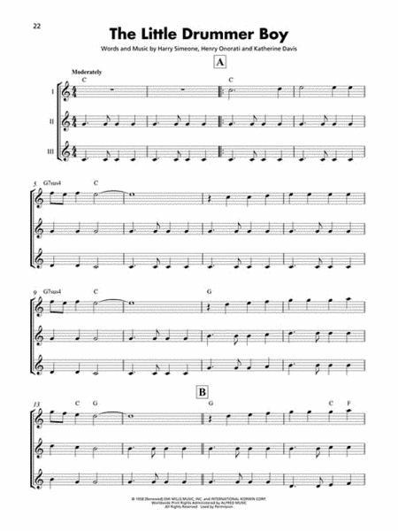christmas songs ukulele ensembles intermediate - Christmas Songs Ukulele