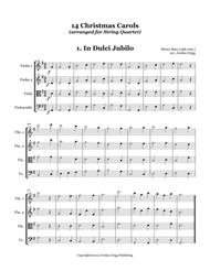Henry Suso, Richard S. Willis, Felix Mendelssohn-Bartholdy, William J. Kirkpatrick, John Reading, Franz Xavier Gruber, and other traditional tunes