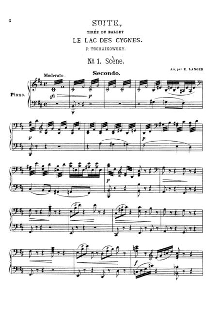 Digital Sheet Music for 2 Pianos