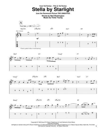 stella by starlight real book pdf guitar