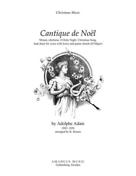 Buy Sheet Music Cantique De Noel O Holy Night Choral Vocal Choir