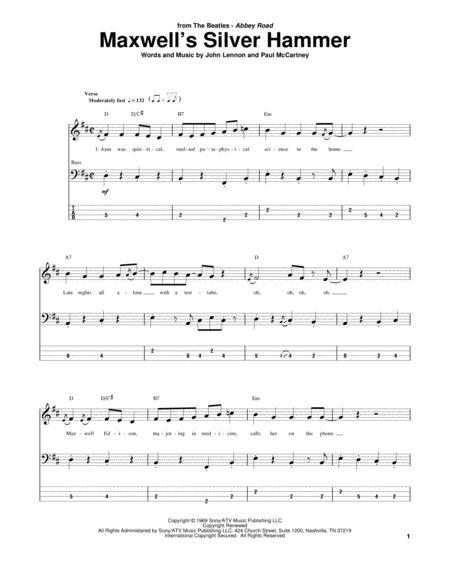The Beatles Bass Guitar Sheet Music Books Scores Buy Online