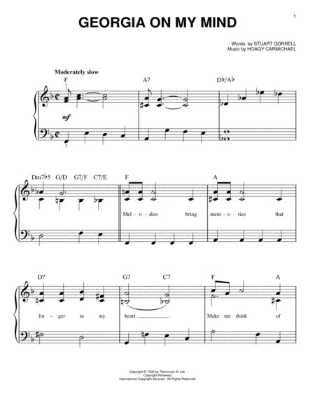 Ray Charles sheet music to download and print - World center of ...