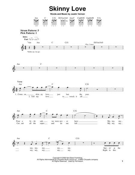 Buy Bon Iver Sheet Music Tablature Books Scores