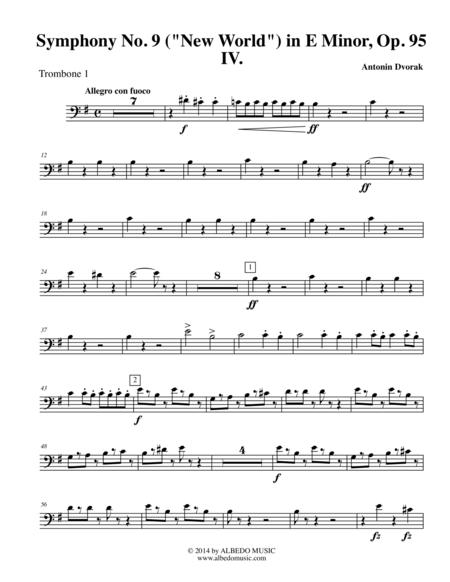Download Digital Sheet Music of symphony no for Trombone
