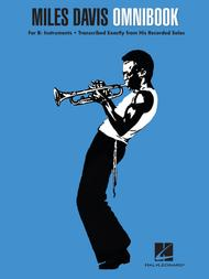 Miles Davis Omnibook sheet music