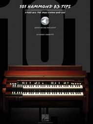 Brian Charette  Sheet Music 101 Hammond B-3 Tips Song Lyrics Guitar Tabs Piano Music Notes Songbook