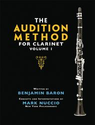 The Audition Method for Clarinet - Volume 1 sheet music