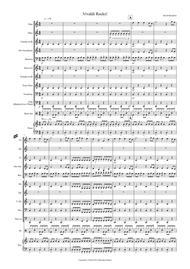 Vivaldi Rock's for School Concert Band by Antonio Vivaldi sheet music