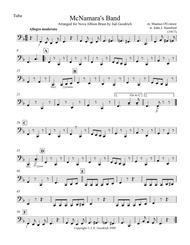 """McNamara's Band"" for brass quintet sheet music"