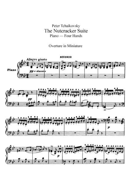 nutcracker suite score arranged by robert longfield pdf