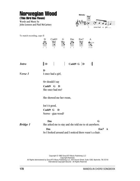 Download Digital Sheet Music of The Beatles for Mandolin
