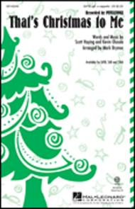 That's Christmas to Me sheet music