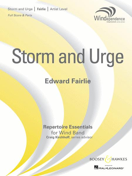 Sheet music: Storm and Urge (Concert band)