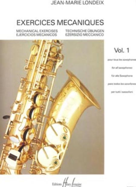 35 Etudes Techniques  Saxophone René Decouais Book Only GB1609