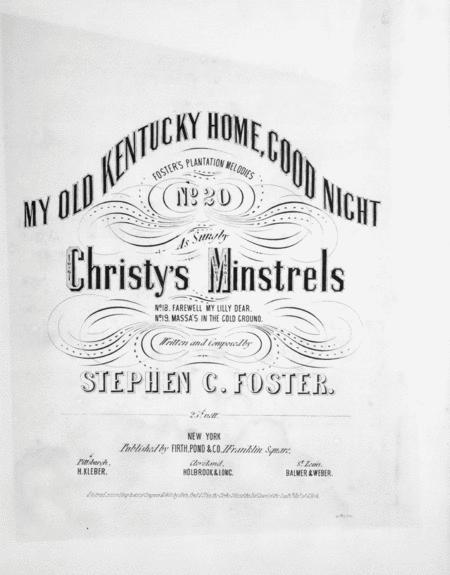 Buy Stephen Foster Sheet music - Foster, Stephen music scores