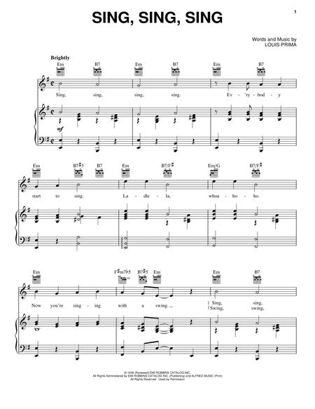 Benny Goodman Sheet Music To Download And Print World Center Of
