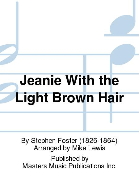 jeanie with the light brown hair piano pdf