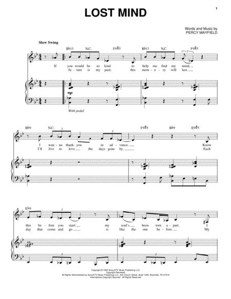 Download Digital Sheet Music of Diana Krall for Piano, Voice