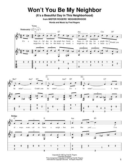 Fred Rogers sheet music to download and print - World center of