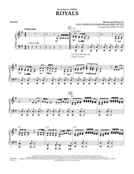Ella Yelich-O sheet music to download and print - World center of ...