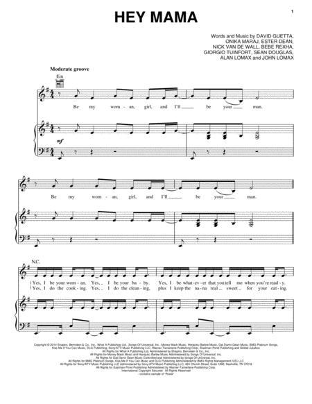 Download David Guetta Digital Sheet Music and Tabs