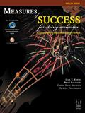 Measures of Success for String Orchestra-Violin Book 1