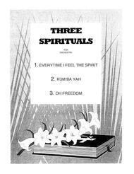 Three Spirituals sheet music