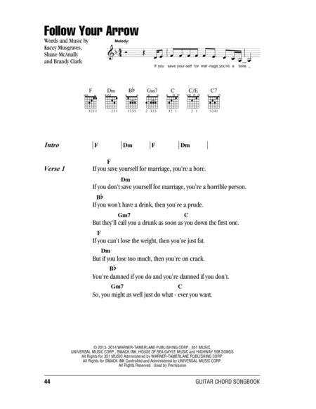 Kacey Musgraves sheet music to download and print - World center of ...