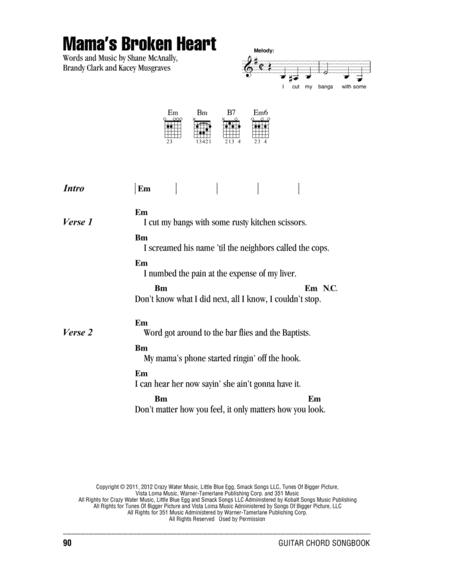 miranda lambert sheet music to download and print - World center of ...