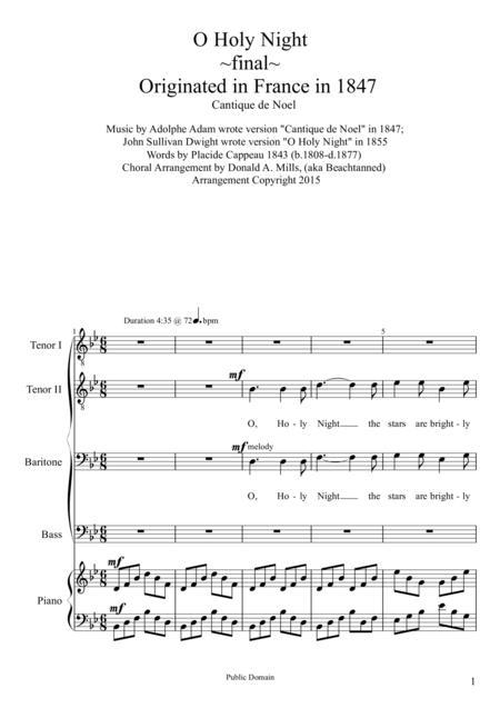 John Sullivan Dwight sheet music to download and print - World ...