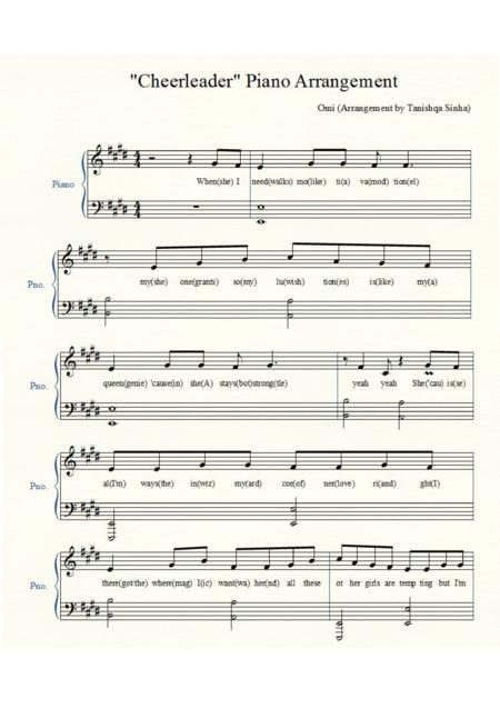 Xylophone : xylophone chords cheerleader Xylophone Chords ...