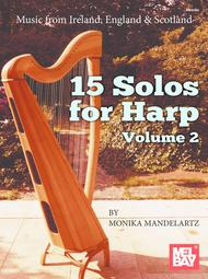Felix Schell  Sheet Music 15 Solos for Harp Volume 2 Song Lyrics Guitar Tabs Piano Music Notes Songbook