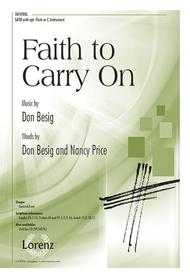 Faith to Carry On by Don Besig sheet music