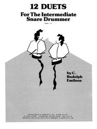 Emilson  Sheet Music 12 Duets For The Intermediate Snare Drummer Song Lyrics Guitar Tabs Piano Music Notes Songbook