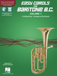 Easy Carols for Baritone B.C. - Vol. 1 sheet music