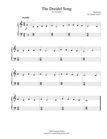 Traditional Jewish Folk Song sheet music to download and print ...