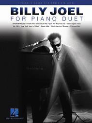 Billy Joel for Piano Duet sheet music