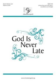 God Is Never Late sheet music