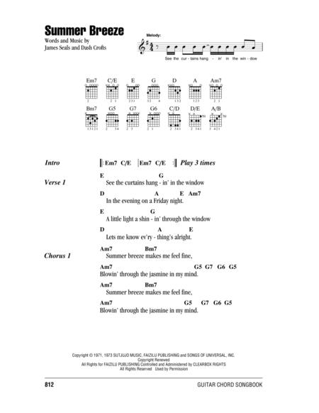 Seals and Crofts sheet music to download and print - World center of ...