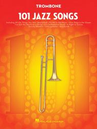 Various  Sheet Music 101 Jazz Songs for Trombone Song Lyrics Guitar Tabs Piano Music Notes Songbook