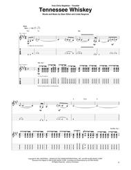 Dean Dillon  Sheet Music (Smooth As) Tennessee Whiskey Song Lyrics Guitar Tabs Piano Music Notes Songbook