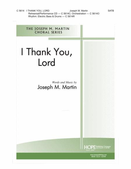 thank you for giving to the lord sheet music pdf