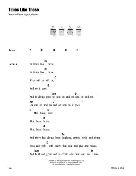 Jack Johnson sheet music to download and print - World center of ...