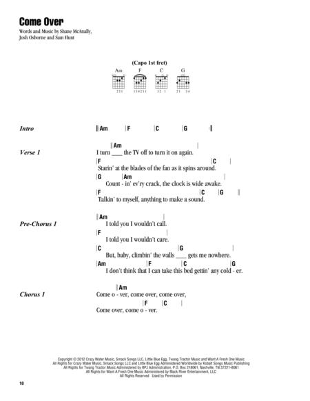 Download Digital Sheet Music of Kenny Chesney for Lyrics and Chords