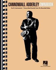 Cannonball Adderley - Omnibook sheet music