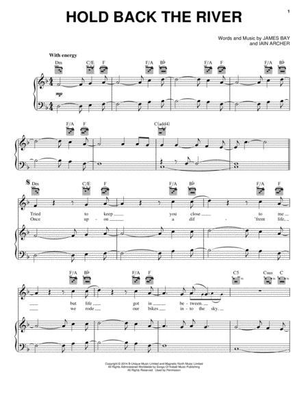 James Bay Let It Go Chords 82802 | TWEB